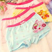 high quality girl`s  panties, 100% cotton modal children underwear, baby panties, K6204