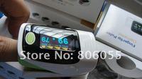 Free shipping OLED Finger Pulse Oximeter Blood Oxygen SpO2 Saturation Fingertip Oximetro Monitor CE FDA Approved