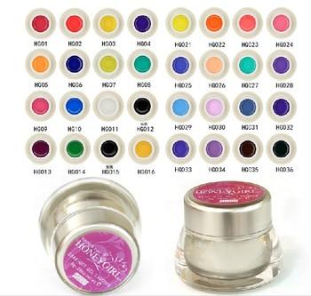 Brand New 5Pcs/Lot UV Gel Color Soak-Off  Lacquer Variety Color Gel 28oz/8g