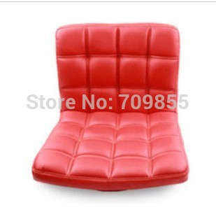 Modern Furniture for Living Room 360 Degree Rotation PU Leather Meditation Floor Leisure Gaming Watching TV Comfy Red Chairs(China (Mainland))
