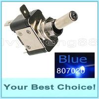500pcs/Lot ASW-07D 12V/20A Led Illuminated Automotive Toggle Switch (DHL Free Shipping)