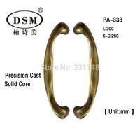 DSM Antimicrobial Copper Cu+ Door Pull Handle PA-333-L300mm For Entrance Door