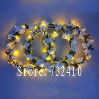 Personalized bridal hairpin hair accessory luminous led ball ruslana korshunova accounterment