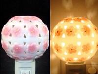 Free shipping Ceramic Night Light Night Light oils aromatherapy essential oil incense lamp ceramic lamp light series5pcs/lot