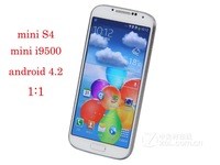 New 4 inch mini i9500 mini S4 MTK6515 1GHZ 800x480 PX Capacitive Screen Android 4.2 2MP Camera Smart Phone Free Shipping