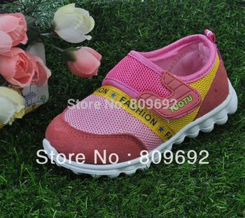 3 ColorsChildren Unisex Baby Sport Shoes Kids Tennis Shoes Boy Girl Student Shoes Sneaker Size 21-25 1pair Free Shipping TXX-004