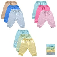 3pcs/ lot HOT 2014 Summer autumn 100% cotton Baby pants  kids pants PP pants baby girl legging baby trousers Free Shipping