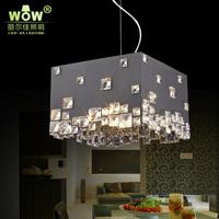 Free shipping   creative bar restaurant chandelier crystal lamps bedroom modern minimalist dining room chandelier lighting perso