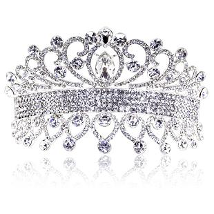 Colour bride elegant charm of the bride hair accessory big rhinestone marriage accessories