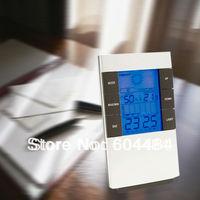 Digital alarm Weather Station LED digital clock Temperature Alarm clock with luminous,calendar SL-53025