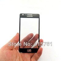 Gray Outer/top Glass  For Samsung Galaxy S2 SII i9100 Black/White Digitizer/lcd touch Screen Free Shipping