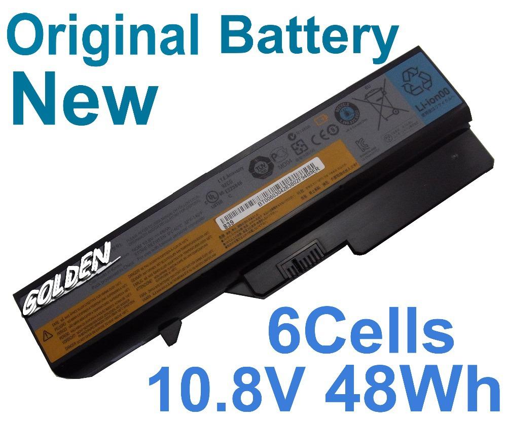 48Wh Genuine Original Laptop Battery For LENOVO G565 G565A G565G G565L G570 G570A 6Cells(China (Mainland))
