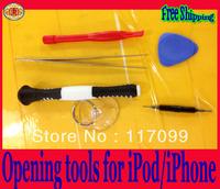 FREE SHIPPING  6 in1 set DIY Repair KIT for iPhone5 Disassemble Professional mini tools  screw repair tools
