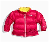 Outerwear girls fashion long Sleeve Cotton-padded Jackets Coats For Kids Winter Clothes Free Shipping Retail