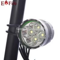 New 5200 Lumen 4 x CREE XM-L T6 LED Bicycle LED Light Accessory Light Bike LED Light Aluminum alloy Waterproof Design