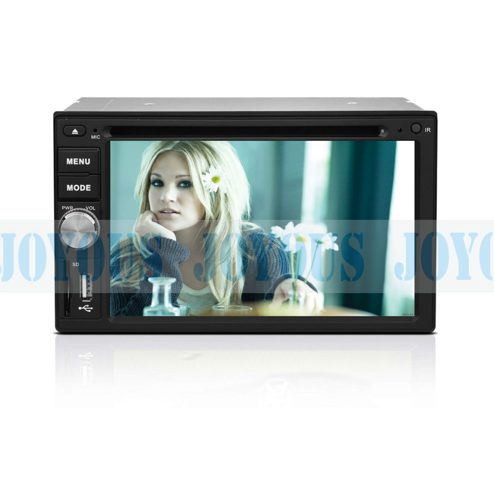2 Din 6.2 Inch Car DVD Player TV Buletooth MP3 FM/AM GPS map card(China (Mainland))
