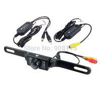 2.4G Wireless waterproof Car Reverse Rear View Camera Backup Parking Camera Russia Waterproof night vision Car RearView Camera