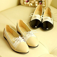 Fashion vintage 2013 lacing shoes side zipper low-heeled shoes princess comfortable single shoes