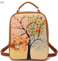 Free shiipping Circleof bag 2013 preppy style female backpack small backpack x1296 fresh