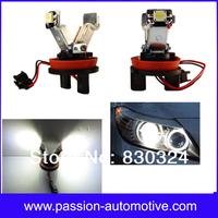 H8 LED Angel Eyes Upgrade 6000K V Shape for BMW X5 E70 E60 E90 E92 E71