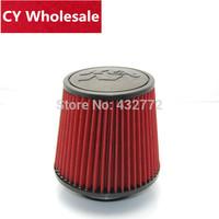 Universal 76mm height air intake K&N Cold Air Intake Air Filter factory wholesale