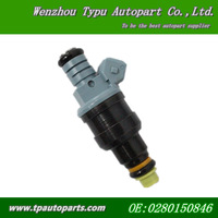 1600 cc/min Low Impedance Fuel Injectors 0280150846 for Mazda RX7 0280150842 4 pieces
