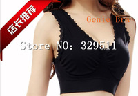 60pcs/lot (20set) Free Shipping Genie Bra with Removable Pads Shaper Vest BODY SHAPER Push Up BREAST RHONDA SHEAR  (Retail Box)