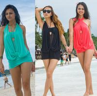 Sexy New Swimwear Beachwear Bikini Set beach bikini Padded Monokini Halter Ladies Swimsuit