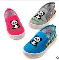 Autumn new children's shoes wholesale children elastic cartoon lightweight comfortable canvas shoes 13444