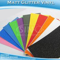 1.52x5M 5FTx16.4FT  Free Shipping Matt Glitter Sanding Vehicle Paper Sticker for Body Wrap