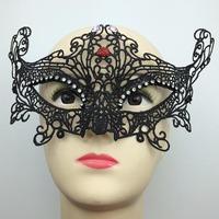 2014 newest party mask black cutout lace veil sexy prom fashion cutout mask blindages hallowen mask masquerade mask