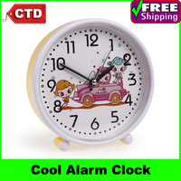 Students Cute Cartoon Quartz Movement Alarm Clock Table Clock