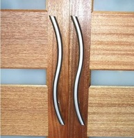 S Design Storefront Door Pull Handles Tubing Stainless Steel For Entry/Glass/Wood Door;Luxury Handle for Bathroom WL-1043
