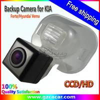 Free shipping,waterproof Car Rear View Reverse backup Camera for KIA Forte/Hyundai Verna