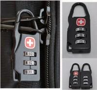 2013 Security luggage locks password lock backpack small padlock  Zipper lock Free shipping L005