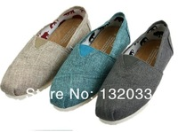 Free shipping 2013 new summer cool and fine linen canvas shoes, casual shoes, super comfortable couple models 77-2