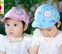 2014 New Fashion Polo children's baseball cap/girl's& boy's sunhat/rabbit pattern Free shipping good quality 2 colors/Ats