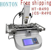 Free Shopping HT-R490 bga rework station for soldering and desoldering soldering station ICS-R490 rework table white 110V