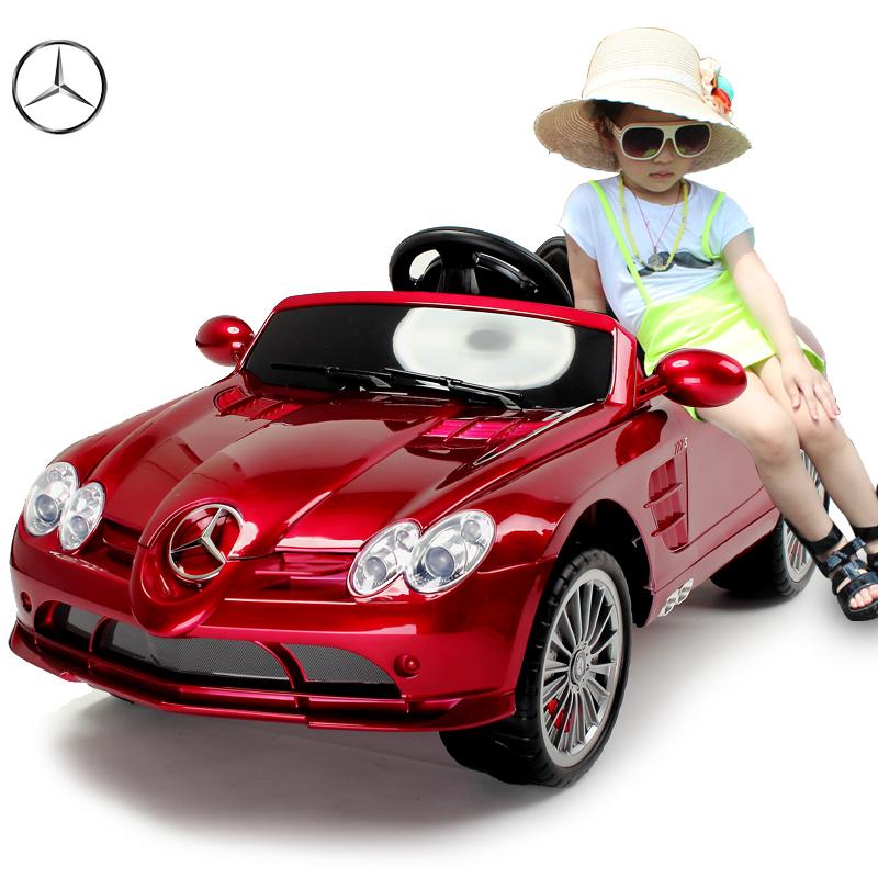 Kids ride on electric cars benz slr 1 4 wheel motorized Motorized kids toys