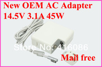 Brand new 45W 14.5V 3.1A Charger for Apple Macbook Air 11.6 and 13.3 Machine A1269 A1270 A1237 A1304 A1269 A1370 + Mail Free