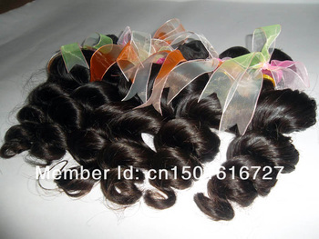 "12""-24"" Free Shipping Queen Hair Products Brazilian Virgin Hair Loose Wave 3 Bundles Cheap Remy Hair Online"