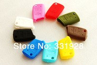 Silicone Key Cover Protective Hold Bag Fits For Golf MK7 10Pcs/Lot