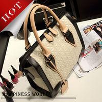Wholesale 2014 Lady Fashion Handbags, High Quality PU Leather Shoulder Bags, Bolsa Women Messenger Bag Free Shipping
