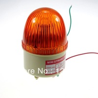 Orange Mini Beacon Warning Signal Light (Please tell us the voltage that you need)