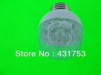Free shipping  5/PCS  Colorful 0.5W 8 SMD LED mini night light bulbs , lamp Model : E27 110V-240V/AC