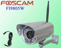New Foscam FI9805W HD 1.3 MegaPixel Outdoor Wireless IP Security Camera H.264 waterproof webcam