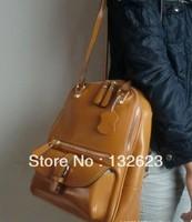 fashion bags, leisure shoulder bag  f2013 fashion star style vintage leather one shoulder backpack women's genuine leather bag
