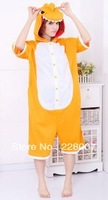 Orange Dinosaur Onesie Pajamas Summer