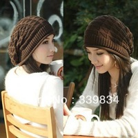 Free shipping  cap beaniesc for men women Korean Fashion Winter Warm Knitted Hat