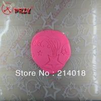 free shipping silicone embossed mat Flower Silicone Handmade Fondant Mold art sugar Crafts pentagram 50*50*0.2CM SI:112